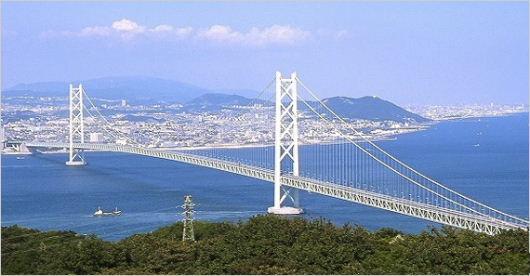明石海峡大橋3911m