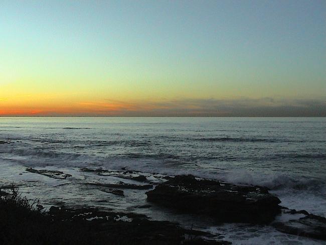 Sun Set La Jolla