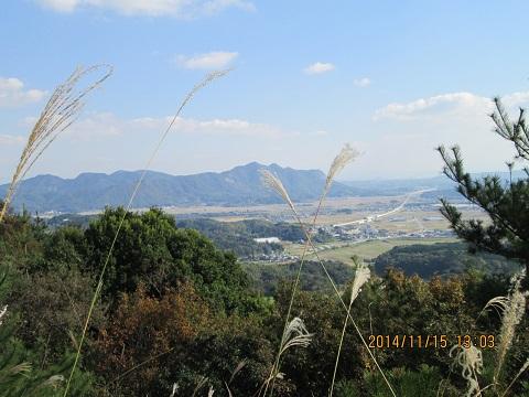 木葉山方面