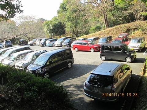 蛇ヶ谷公園駐車場