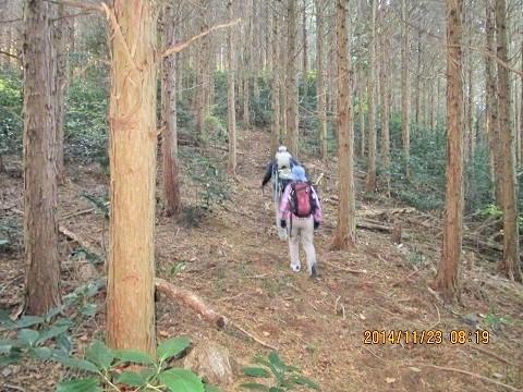 三ノ岳登山道