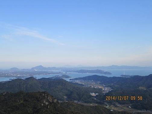次郎丸嶽からの眺望