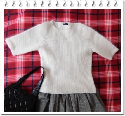 白セーター1