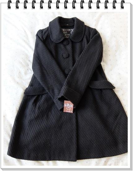 黒コート2
