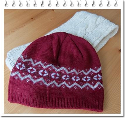 マフラー帽子
