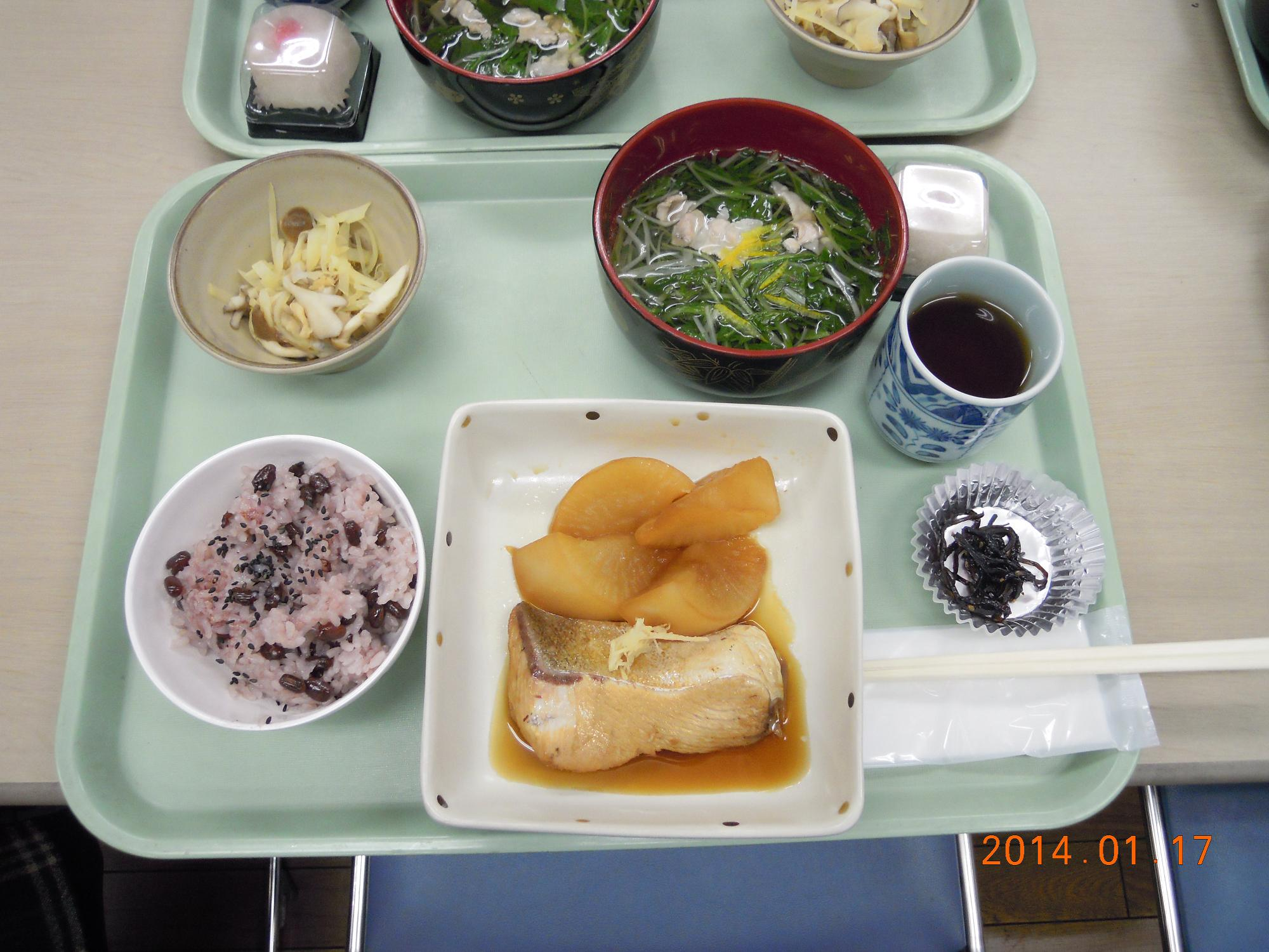 食事サービス1月