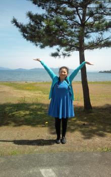 琵琶湖 ガンダーリ先生