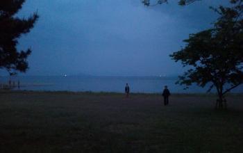 夕方 琵琶湖