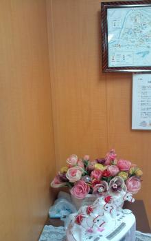 手作りの花
