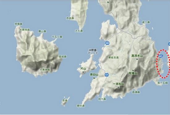 5)大柿町南部 早瀬瀬戸・早瀬大橋