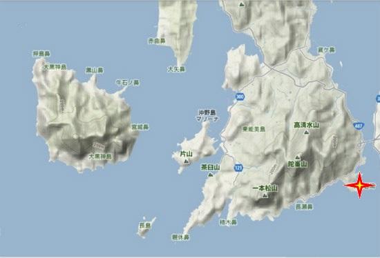 5)大柿町南部 大君低砲台