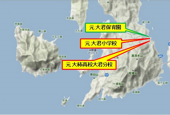 5)大柿町南部 大君地区文教施設