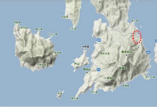 5)大柿町南部 大君 野道
