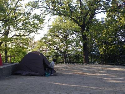 なんとテント