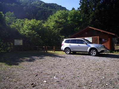 雄滝駐車場