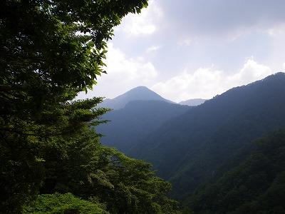 蛭ヶ岳が見える