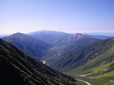 焼岳と乗鞍