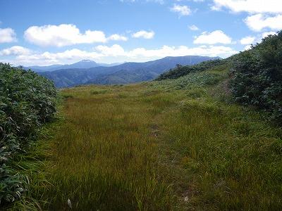 燧岳と平ヶ岳