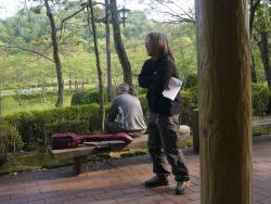 アコの練習~鏡山公園20130428-2