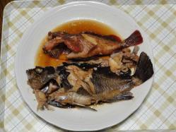 魚の煮つけ20130628