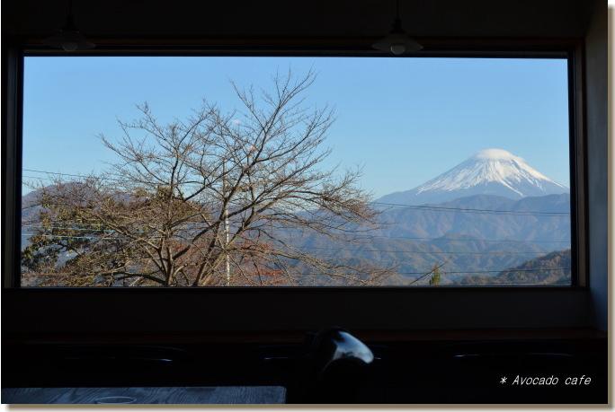 カフェからの富士山2