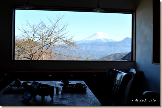 カフェからの富士山3
