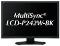 日本電気 24.1型ワイド液晶ディスプレイ(黒) LCD-P242W-BK