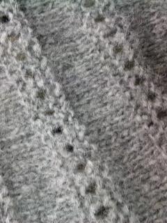 編みかけトッパー