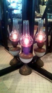 オイルランプみたいな卓上ライト
