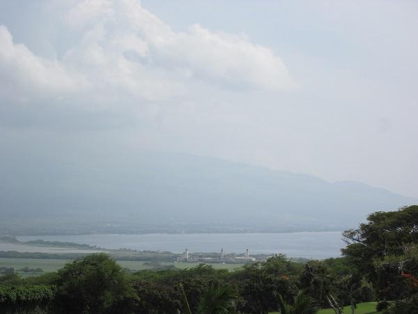 火山灰の風景