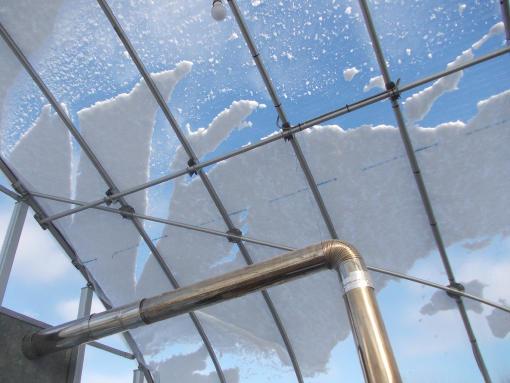 20131109_ハウスに積雪