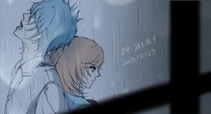 24、涙を流す