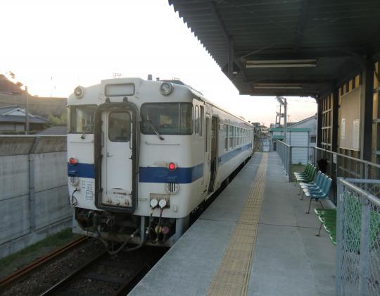 枕崎駅発指宿行き