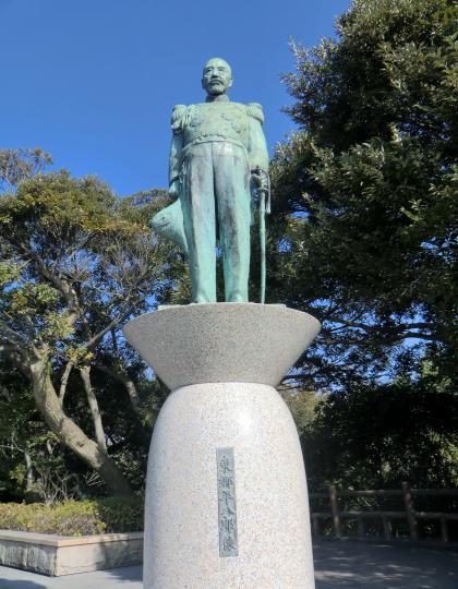 東郷元帥の像