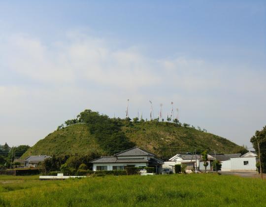 八幡神社遠望
