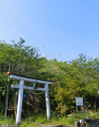 八幡神社階段
