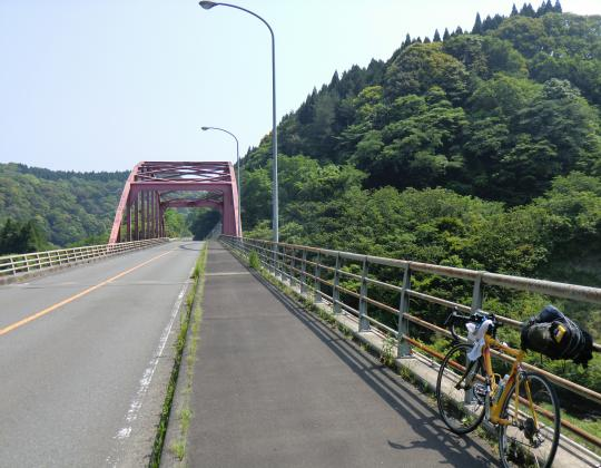 青井岳駅付近橋