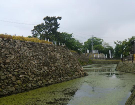 中津城址石垣