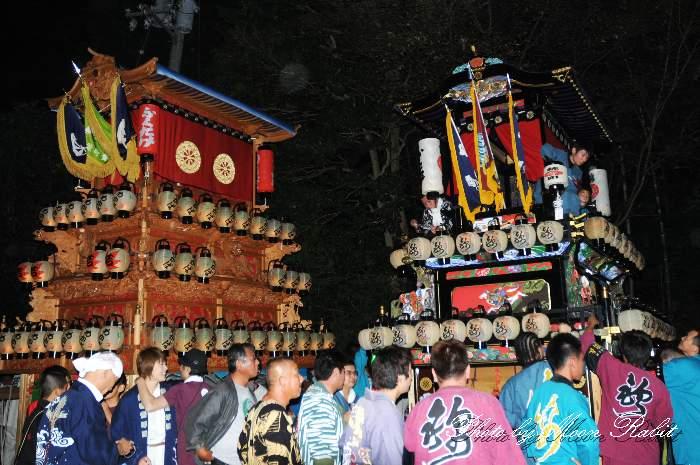 錦町屋台(だんじり・楽車) 加茂神社例祭(福武祭り) 愛媛県西条市福武 西条祭り2012