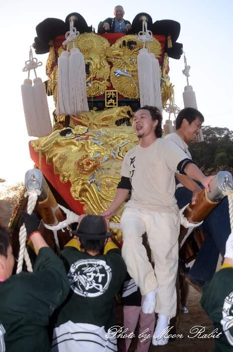 竹内御輿(竹内みこし) 石岡神社祭礼宮入り2012 愛媛県西条市氷見