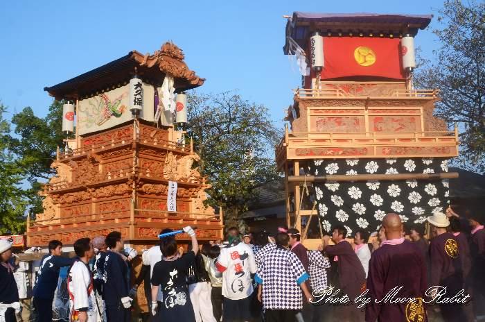古町だんじり(屋台・楽車) 石岡神社祭礼宮入り2012 愛媛県西条市氷見