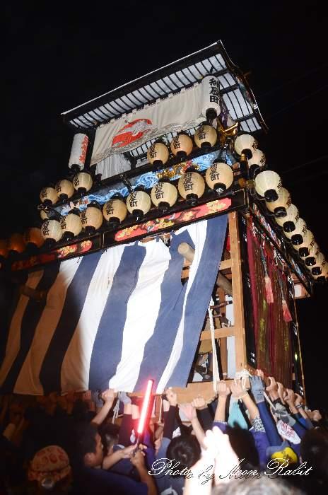 西条祭り2012 紺屋町だんじり(屋台・楽車) 御旅所 伊曽乃神社祭礼 愛媛県西条市