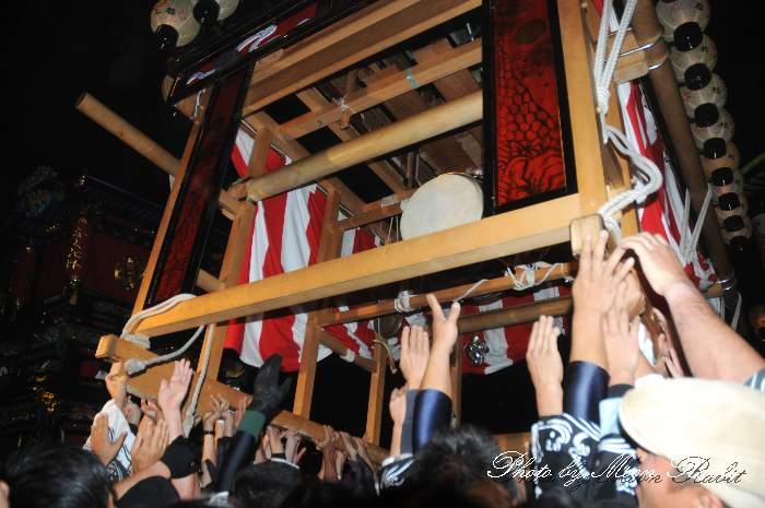 西条祭り2012 松之巷だんじり(松之巷屋台・楽車) 御旅所 伊曽乃神社祭礼 愛媛県西条市