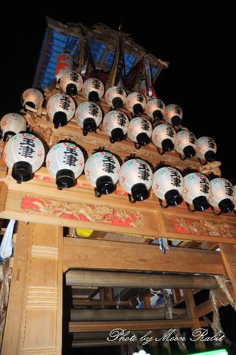 西条祭り2012 玉津だんじり(屋台・楽車) 御旅所 伊曽乃神社祭礼 愛媛県西条市