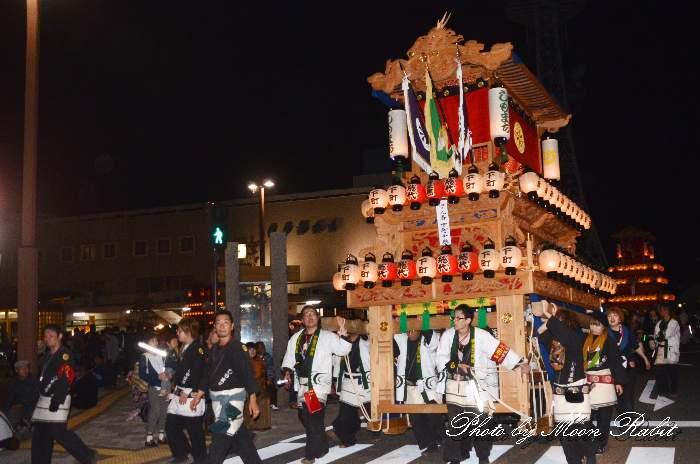 下町中組だんじり(屋台) 愛媛県西条市大町北の丁下 西条祭り2012