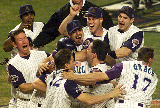 2001 world series game7