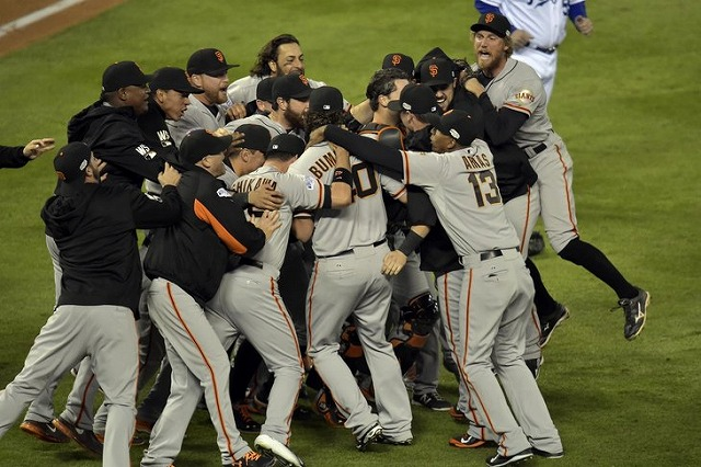 2014年Giants World Series game7