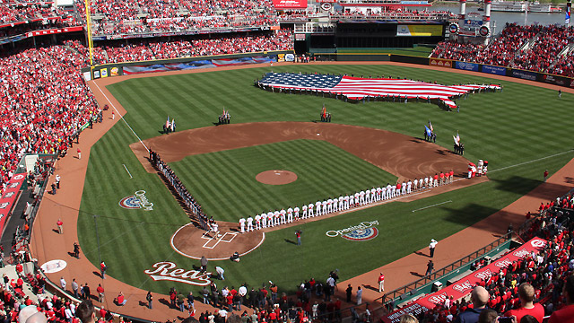 Opening Day 2014 REDS