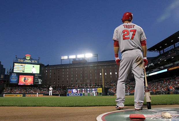 Mike Trout 2014年MVP候補