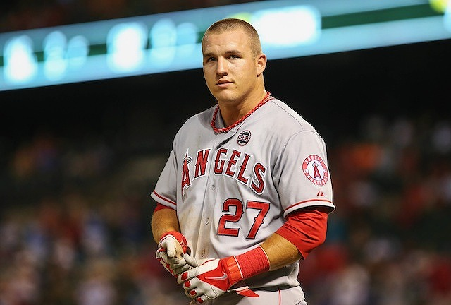 Mike Trout 2014年MVP候補2